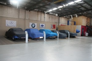 cars with covers on